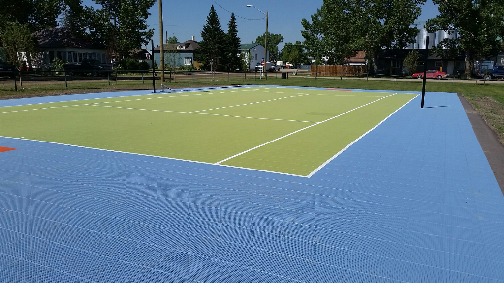 Sport court game courts home court sports courts for Sport court size