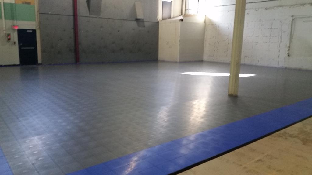 Sport Court Indoor Gym Floors Inline Hockey Floors Response Tiles