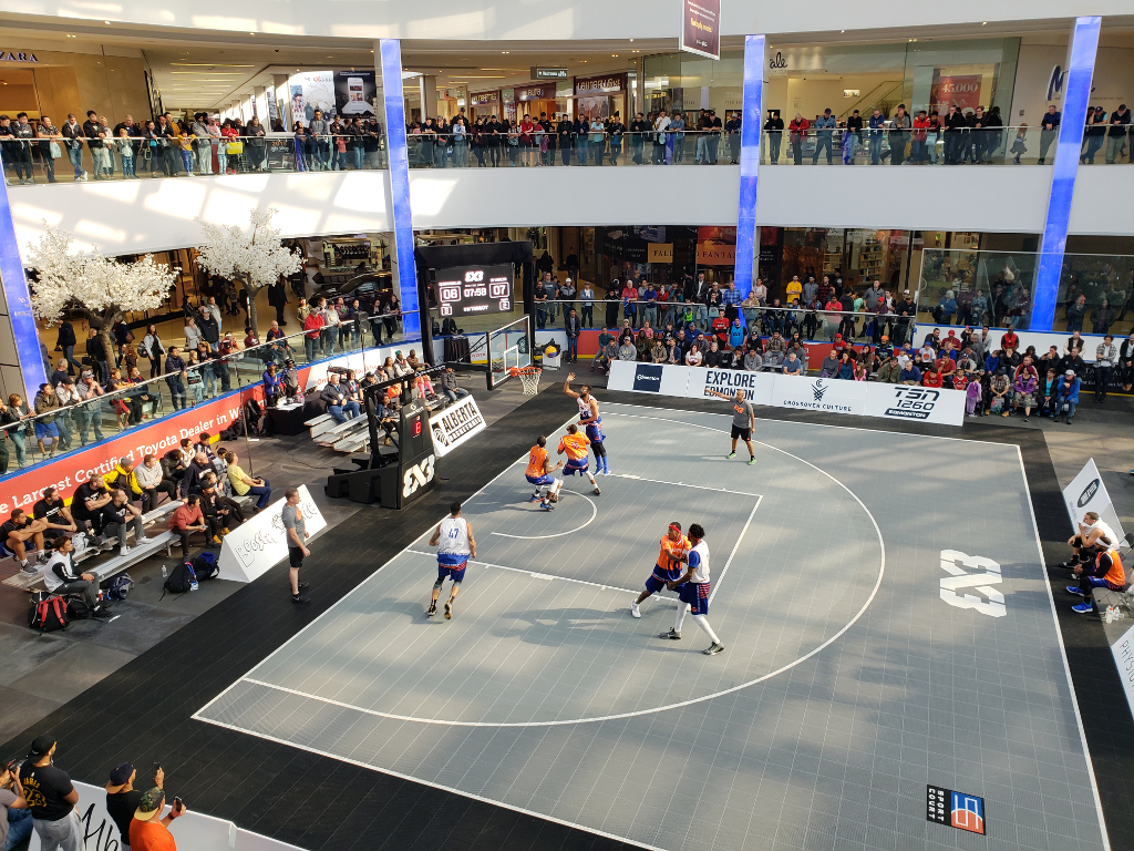 3x3 Challenger, West Edmonton Mall 2018