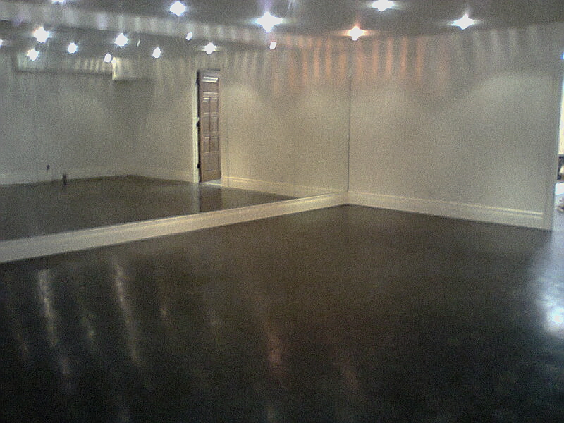 600 sport court basement dance studio