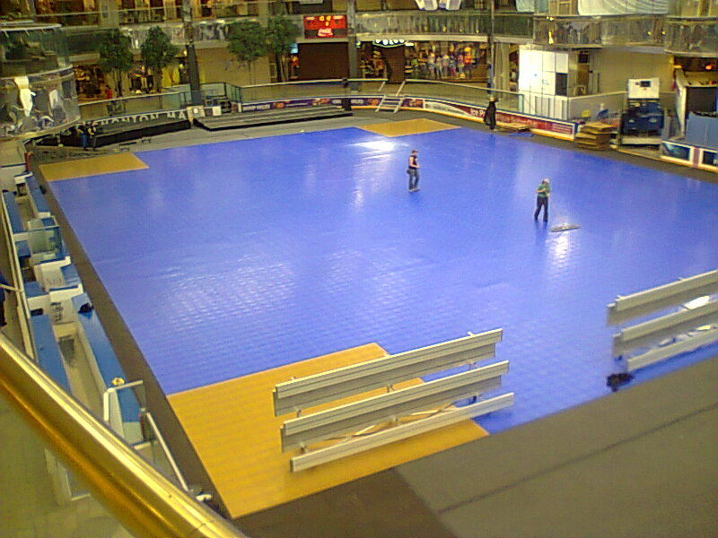 Sport Court Indoor Gym Floors Inline Hockey Floors Response Tiles Defense Tiles Calgary