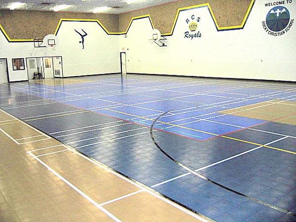 Sport Court Indoor Gym Floors Inline Hockey Floors